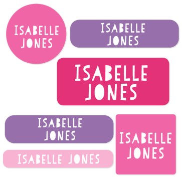 Name Labels - Classic Mixed