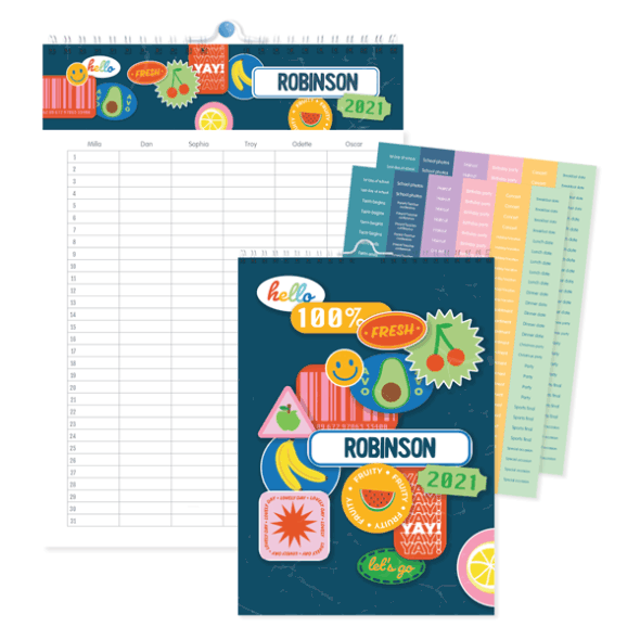 Personalised Family Planner