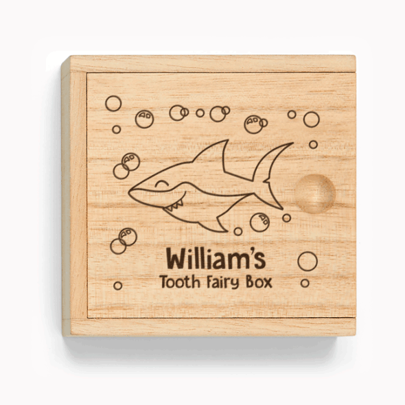 Tooth Fairy Box - Engraved