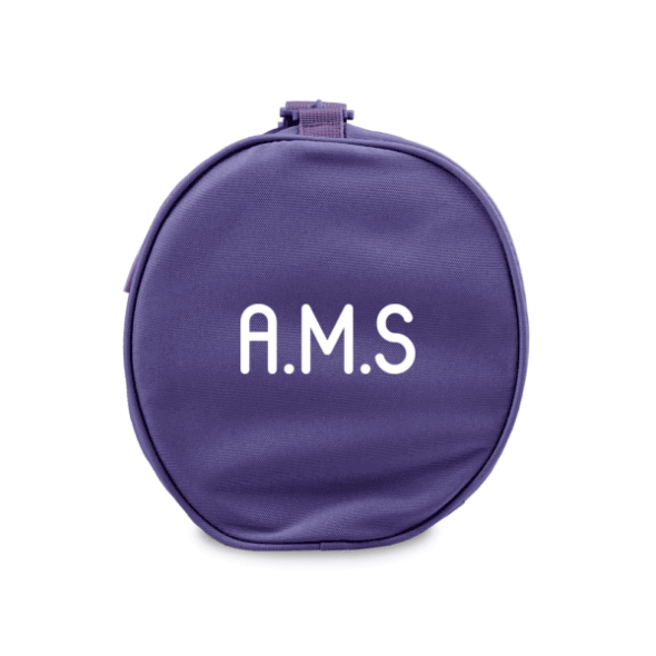Duffle Bag with Initials - Purple
