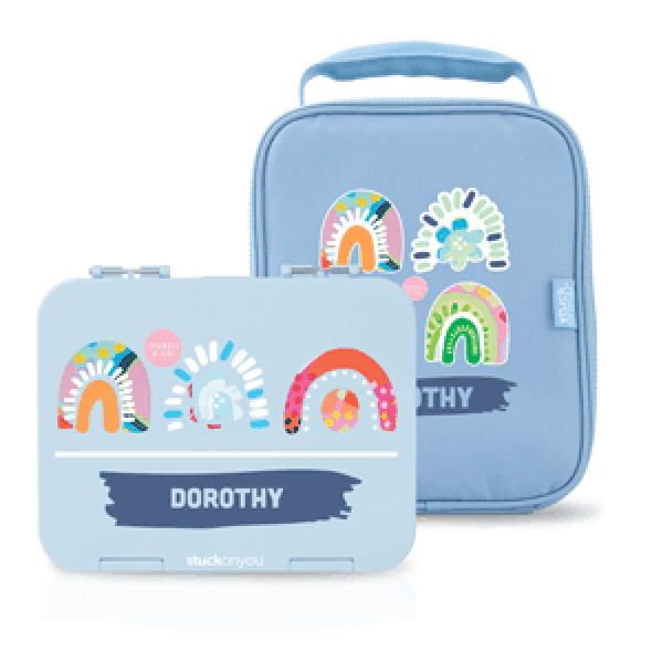 Personalised Bento + Cooler Bag - Isobell & Co.