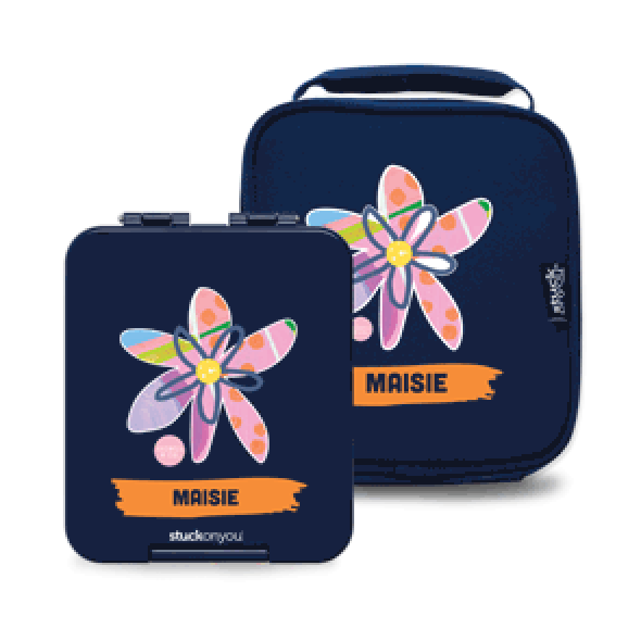 Mini Personalised Bento + Cooler Bag - Isobell & Co