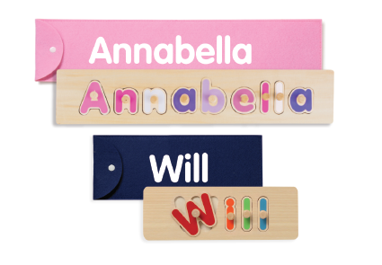 Personalised puzzles for kids
